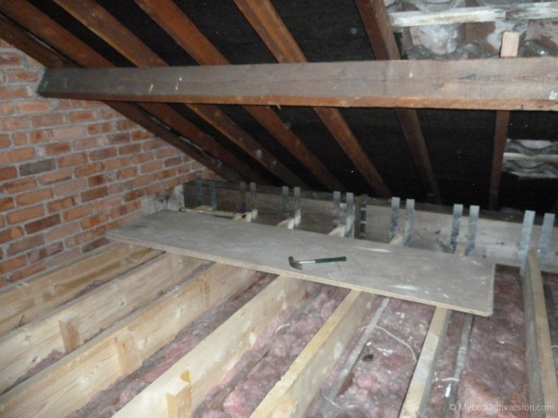 how to build a dormer with i joists